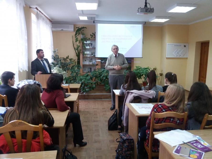 """AGEPI a organizat un seminar de informare cu genericul """"Protecția juridică și valorificarea proprietății intelectuale"""""""