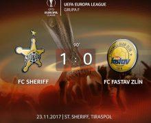 Victorie pentru Sheriff Tiraspol. Campioana este la 1 punct distanță de o calificare istorică