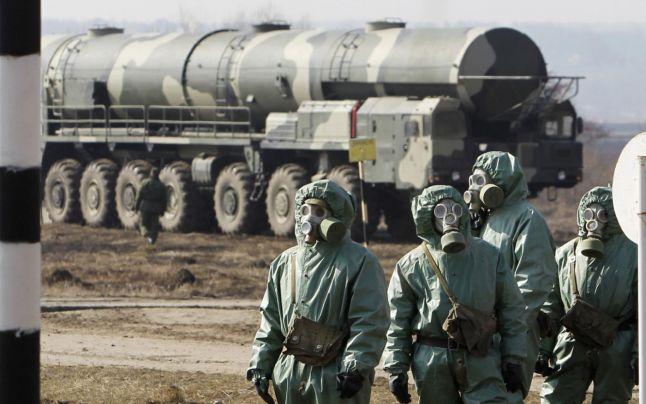 Cum se pregăteşte Rusia, în apropierea coastei Mării Negre, pentru un atac nuclear sau chimic (video)