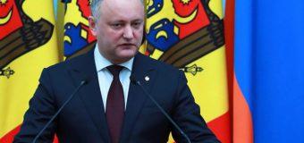 Președintele RM: Ștefan cel Mare reprezintă simbolul suprem al statalității moldovenești și a mândriei ca țară și popor