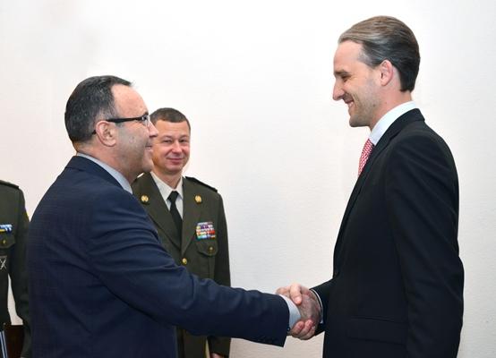 Eugen Sturza la întrevedere cu ambasadorul Ucrainei în Republica Moldova