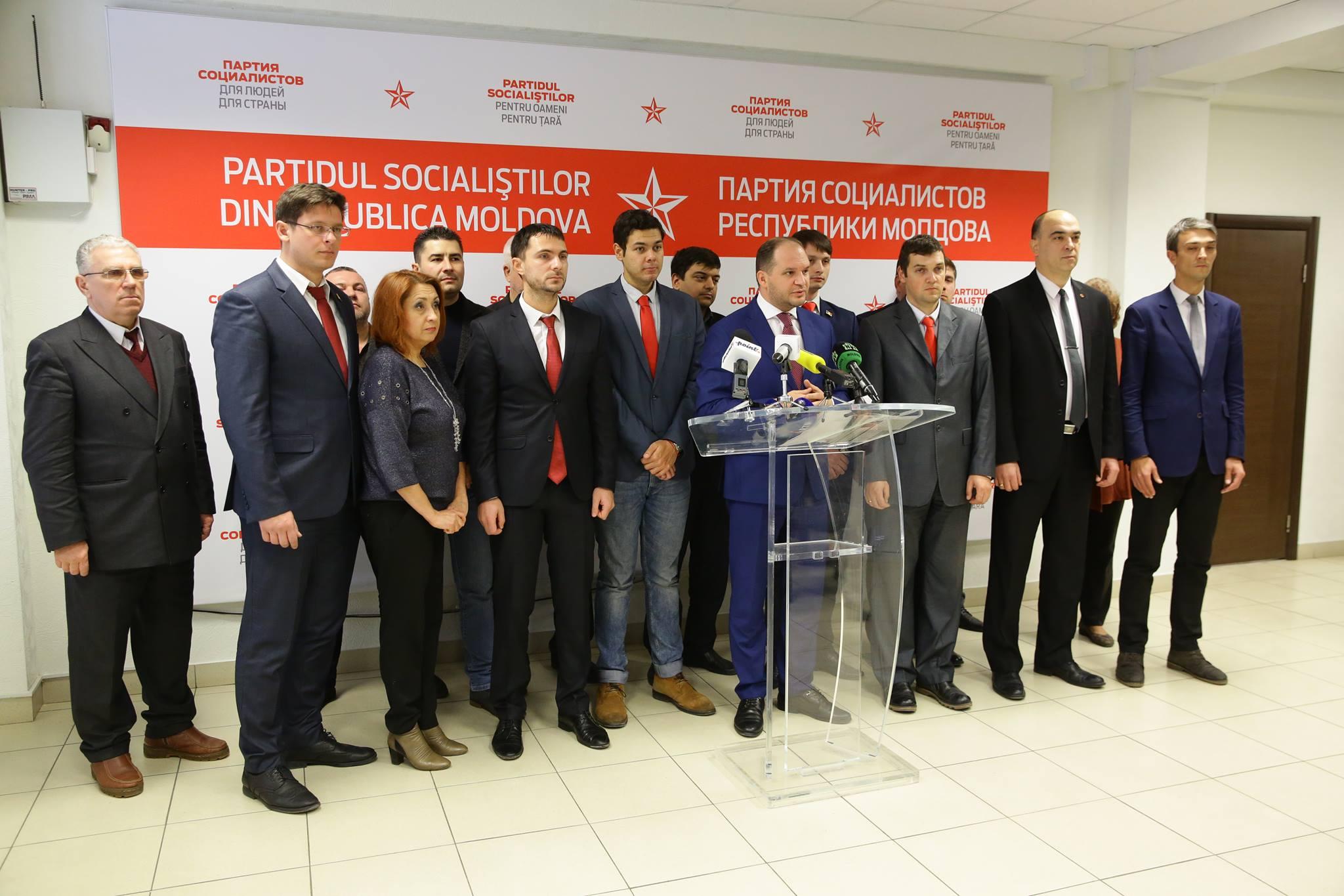 Socialiștii: Niciodată nu vom diviza locuitorii mun. Chișinău pe criterii politice