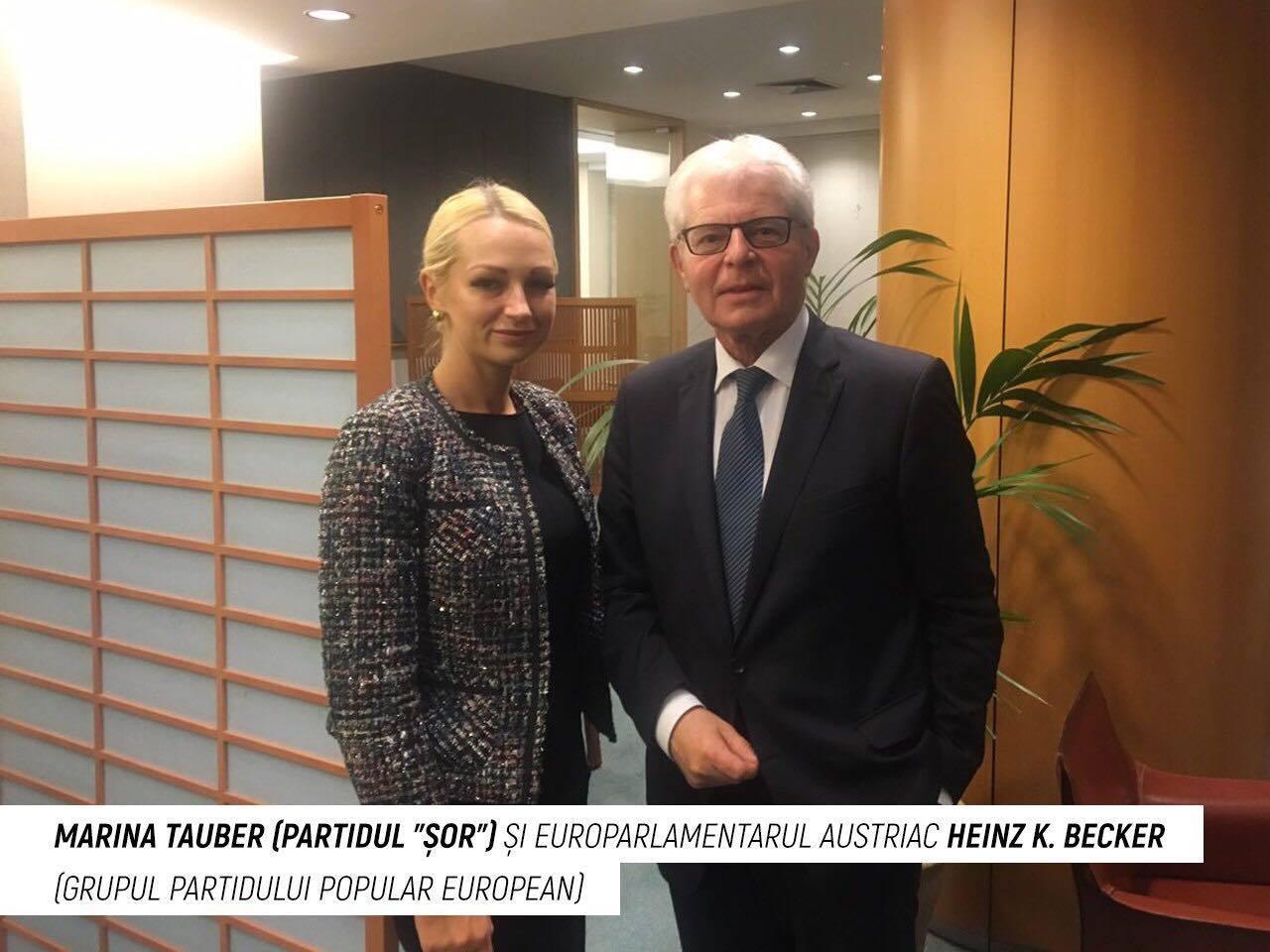 """Încă o vizită a Delegației Partidului """"ȘOR"""" la Bruxelles: A fost discutată situația politică din RM, viitoarele alegeri și cooperarea cu UE"""