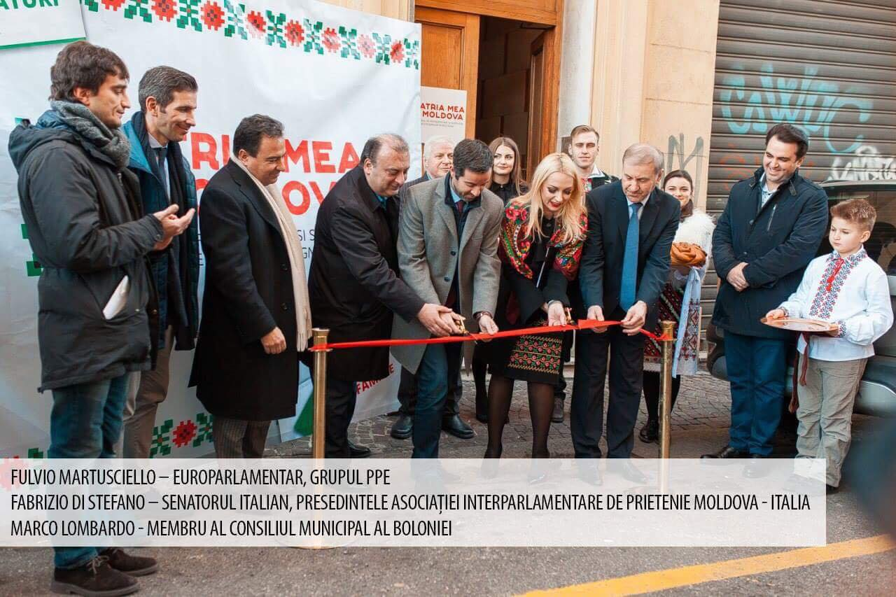 Deputați din Parlamentul European, senatori italieni și diaspora – la deschiderea primului birou de reprezentanță din Orhei în Italia