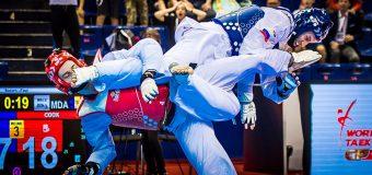 """Luptător de taekwondo din Republica Moldova – câștigător al premiului """"Lovitura anului"""""""