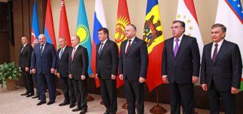 Președintele RM a participat la summit-ul neformal al şefilor de state CSI