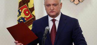 """Igor Dodon, despre cei care vor Unirea cu România: """"Ei trebuie să fie declarați persoane non-grata în Republica Moldova"""""""