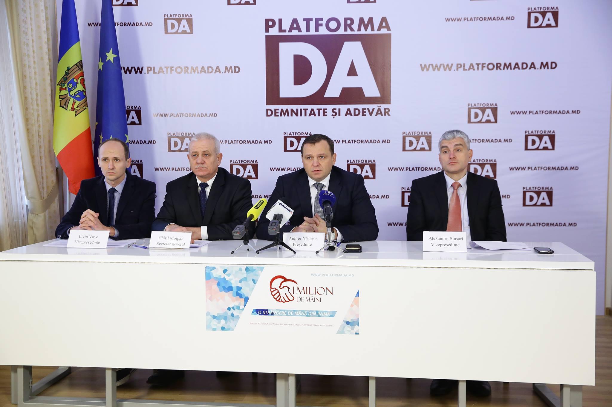 """Platforma """"Demnitate și Adevăr"""" s-a adresat Procurorului General. Detalii"""