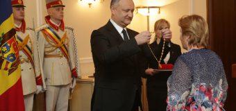 Câte distincții a acordat Igor Dodon în primul an de mandat