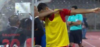 Un fotbalist riscă o pedeapsă cu închisoare după bucuria de la gol