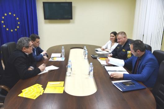 Experiența polițiștilor moldoveni de peste hotare va fi împărtășită celor de acasă