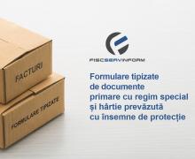 """Formularele tipizare de la  Î.S. """"Fiscservinform"""" pot fi comandate on-line"""