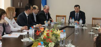 """Serviciul Fiscal de Stat într-o discuție cu membrii Camerei de comerț americane din Moldova """"AmCham Moldova"""""""