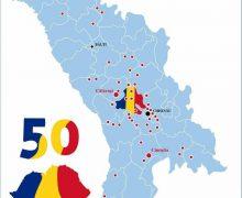 50 de localități din Republica Moldova au votat declarația de Unire cu România