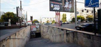 Porțile care blocau pasajul subteran de pe str. Ismail – demontate