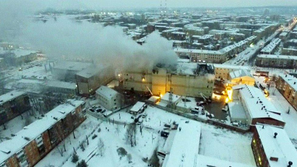 Zi de doliu în Rusia, după incendiul devastator din Kemerovo