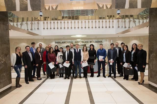 A început Programul de stagii în Parlament pentru sesiunea de primăvară 2018