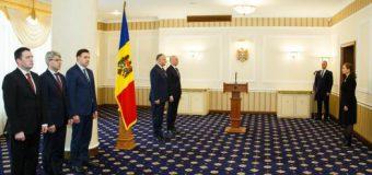 Ministrul Justiției, Victoria Iftodi, a depus jurământul