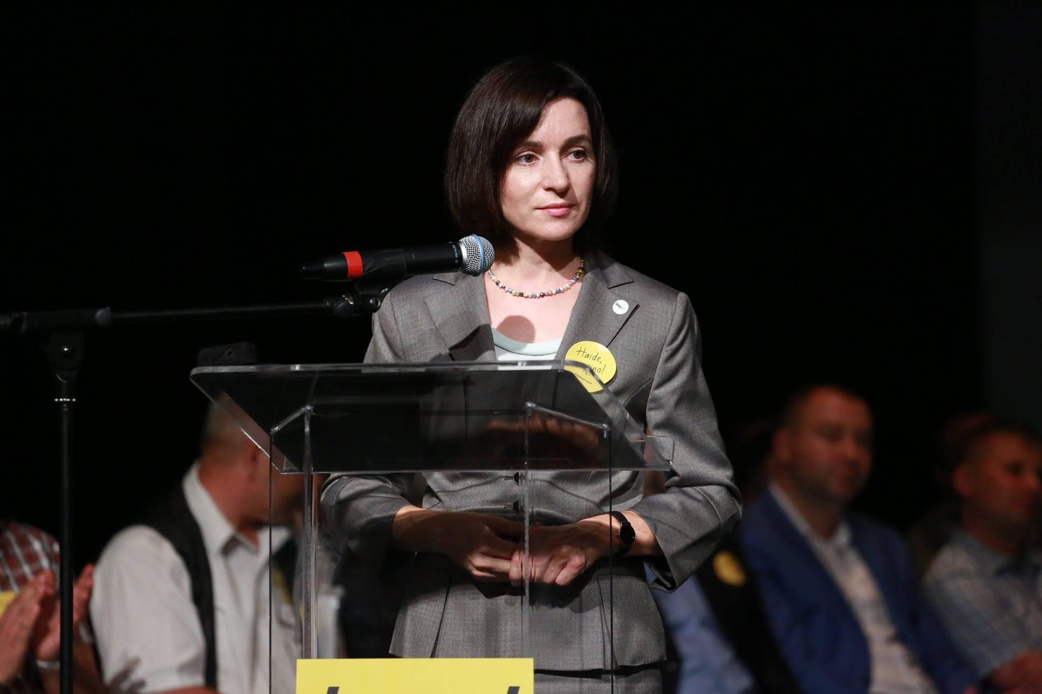 """Maia Sandu: """"În Republica Moldova, deja se fraudează alegerile"""""""
