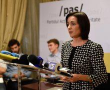 Maia Sandu: Prin decizia de ieri, ei ne spun că votul nostru nu mai contează, că Chișinăul nu ne aparține