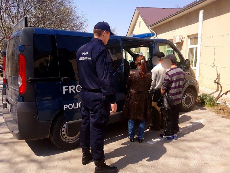 O familie de moldoveni, dată în căutare de Poliția de Frontieră – reținută