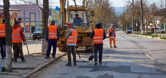 Orhei continuă să își modernizeze infrastructura urbană. A început reparația capitală