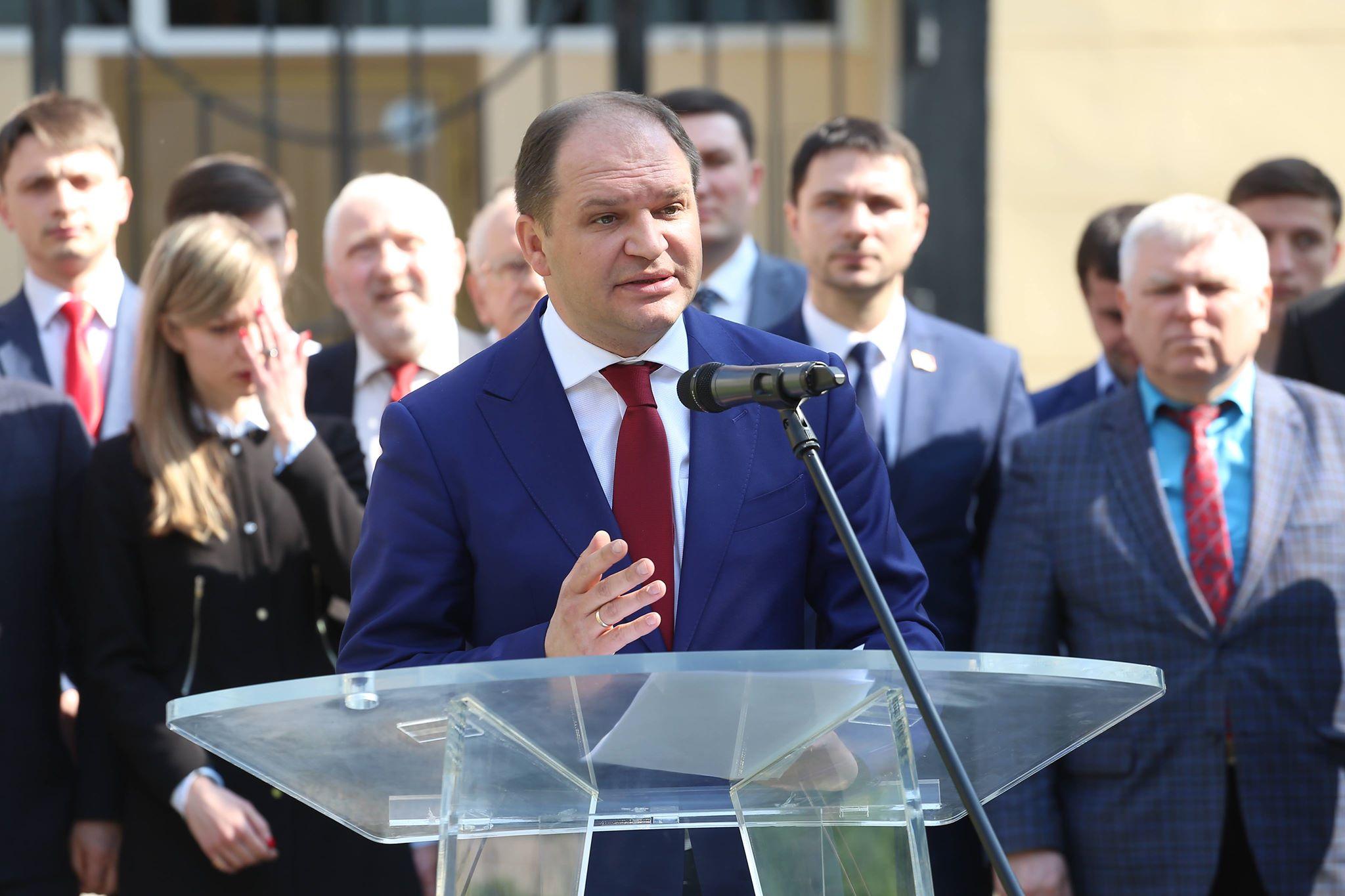 """Candidatul PSRM la funcția de primar de Chișinău: """"Ne propunem să facem o revizie totală a proprietăţii municipale"""""""