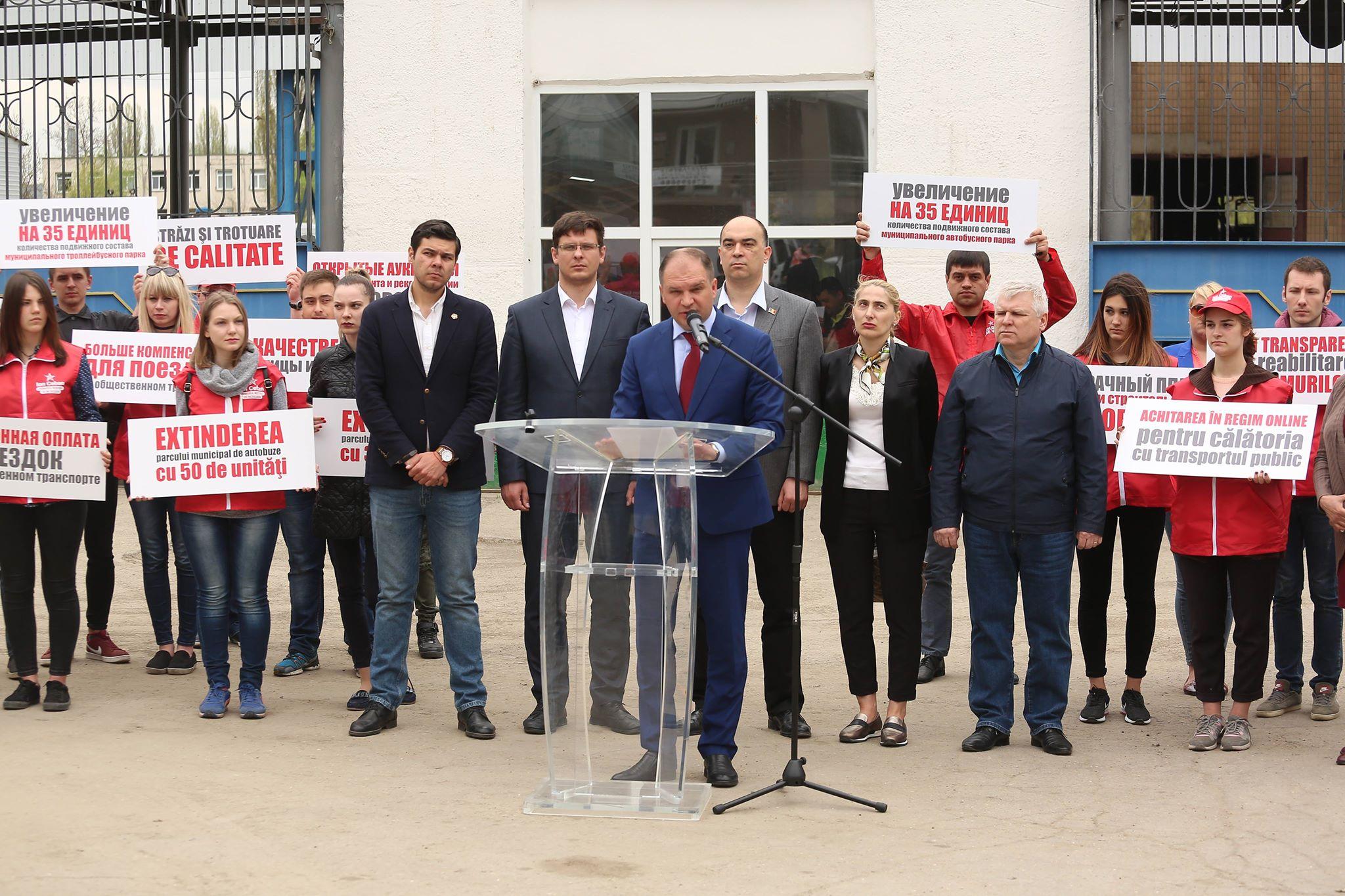 Propunerile candidatului PSRM privind transformarea capitalei într-un oraș confortabil