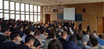 Andrei Năstase și-a dat întâlnire cu studenții de la UTM. Ce au discutat