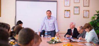 Andrei Năstase a avut o întâlnire cu elevii și cadrele didactice de la Școala profesională nr.9 din Chișinău