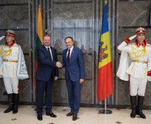 Lituania va continua să sprijine Republica Moldova pe calea integrării europene