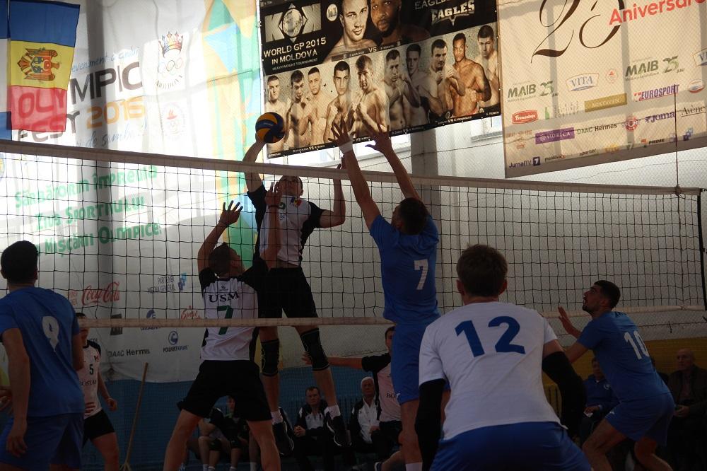 Dinamo MAI, pe locul I în faza a doua a Campionatului la volei masculin