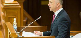 (video) Cabinetul de miniștri – la raport, în Parlament. Trei fracțiuni au plecat
