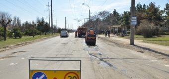 Străzile din Chișinău unde au loc lucrări de reparație și întreținere a drumurilor