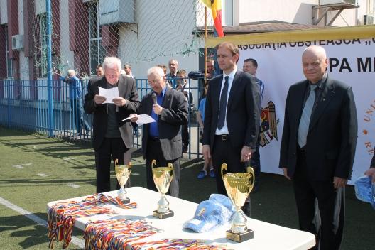 Turneu de fotbal la Chișinău, în memoria victimelor catastrofei de la Cernobâl