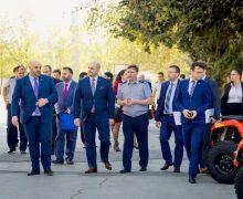 Delegații din Parlamentul României și R. Moldova, în vizită la Poliția de Frontieră
