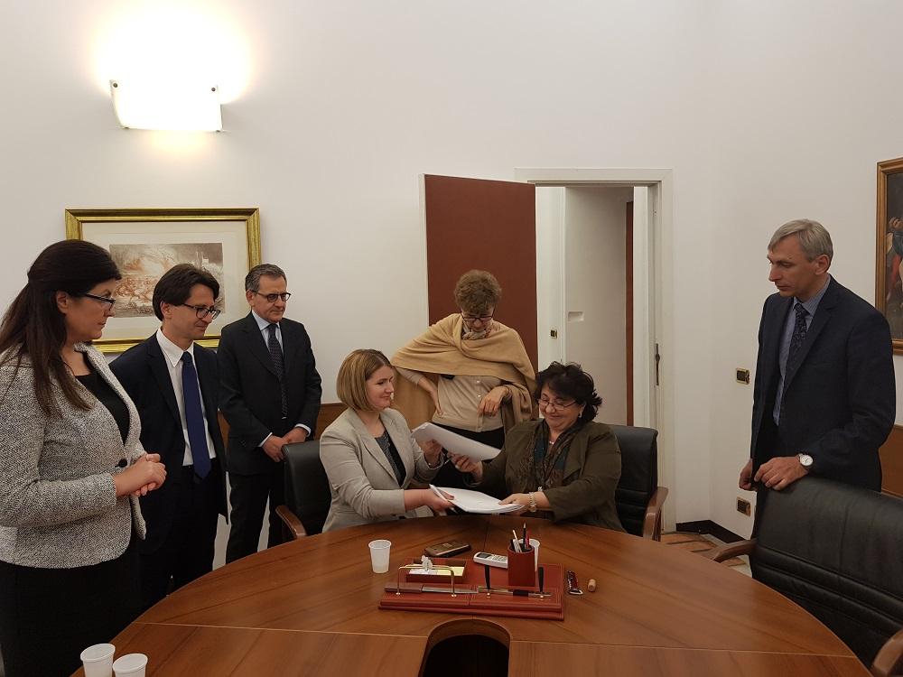 Proiectul Acordului între RM și Italia privind asigurarea drepturilor sociale ale cetățenilor ambelor țări – parafat