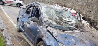 Mașini prinse de avalanșă pe Transfăgărășan