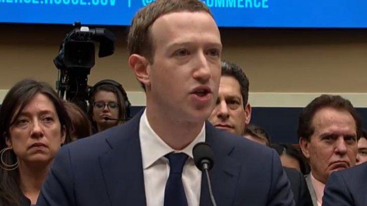 Mark Zuckerberg, fondatorul Facebook, în faţa Parlamentului european