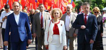 Fracțiunea PSRM efectuează o vizită de lucru la Moscova