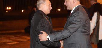 Președintele Dodon, la discuții cu Președintele Putin
