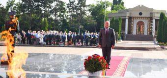 Președintele: Astăzi marcăm Ziua comemorării victimelor căzute pe câmpul de luptă în Marele Război pentru Apărarea Patriei