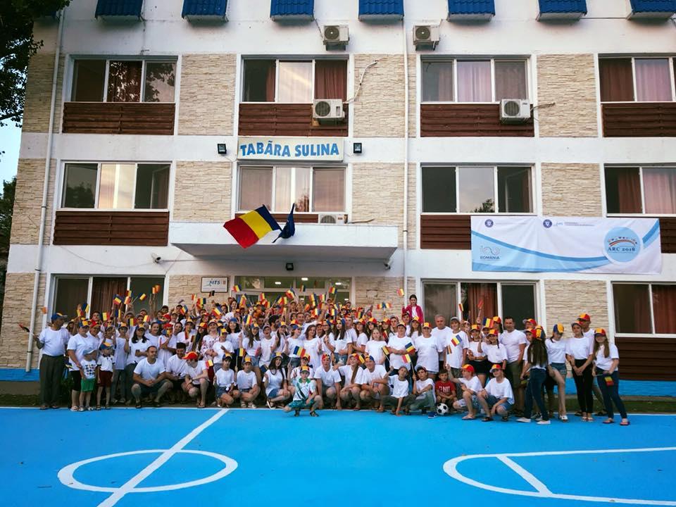 Copiii români din Chișinău și Transnistria, la o tabără din Sulina
