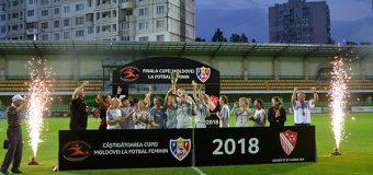 Cupa Moldovei la fotbal feminin. Iată echipa câștigătoare!