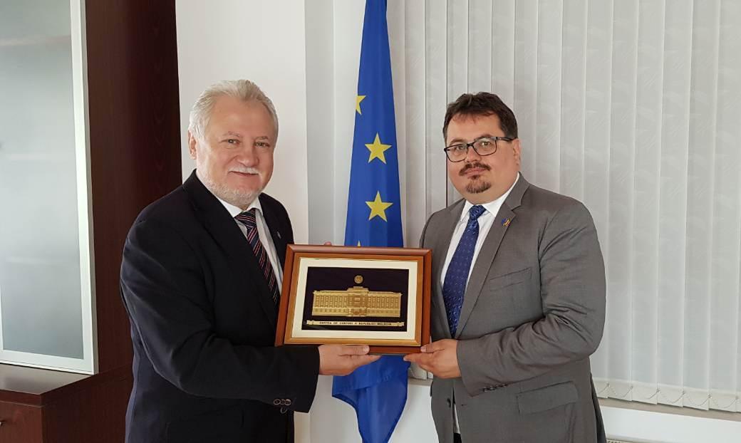 Ultimele evoluții ale activității CCRM, discutate de Șeful Delegației Uniunii Europene în Moldova și Președintele CCRM