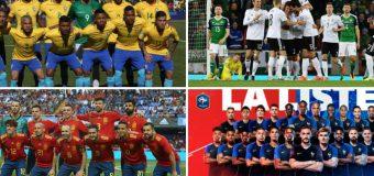 """4 mari favorite la Mondial. Cum ar putea arăta primul """"11″ al echipelor cu cele mai mari şanse în Rusia"""
