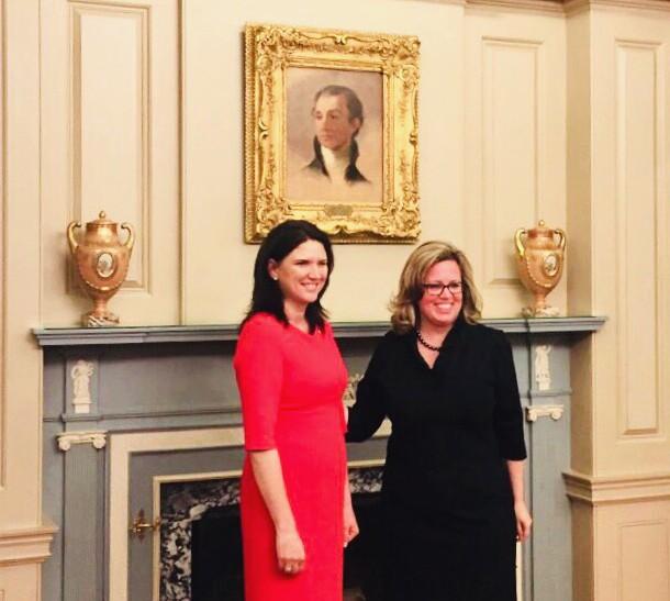 Noul Ambasador al RM în SUA a prezentat copiile scrisorilor de acreditare la Departamentul de Stat