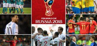 Programul complet al meciurilor de la Campionatul Mondial 2018