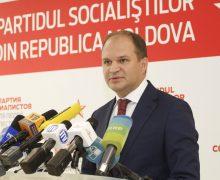 Ion Ceban și-a suspendat calitatea de membru al PSRM