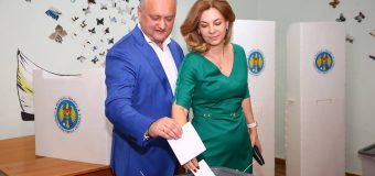 Președintele Dodon: Am votat pentru un profesionist la șefia capitalei